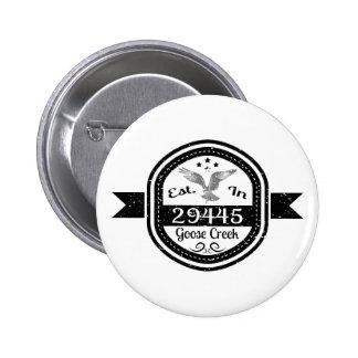 Estabelecido na angra de 29445 gansos bóton redondo 5.08cm