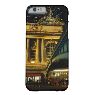 Estação central grande - noite - Nova Iorque Capa Barely There Para iPhone 6