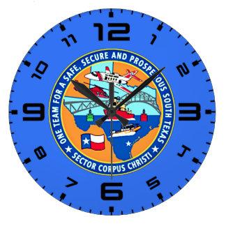 Estação Corpus Christi Texas de USCG Relógio Grande