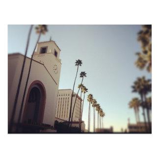 Estação da união de Los Angeles Cartão Postal