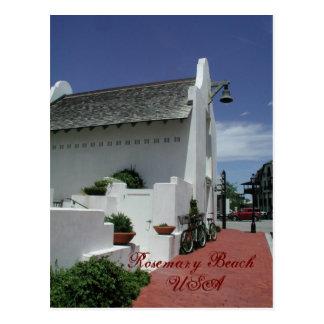Estação de correios da praia de Rosemary Cartão Postal