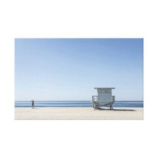 Estação do Lifeguard em uma praia