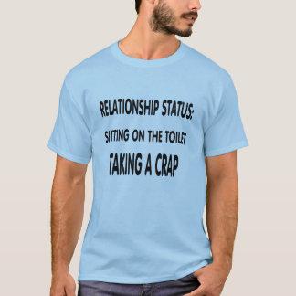 Estado da relação camiseta