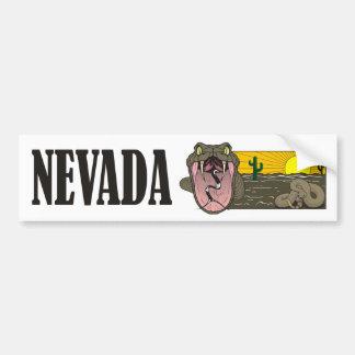 Estado do cobra de Nevada EUA: Cascavel e deserto Adesivo Para Carro