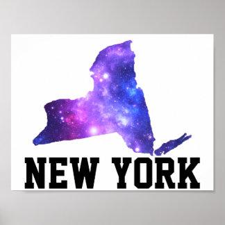 Estado do império da galáxia de New York Pôster