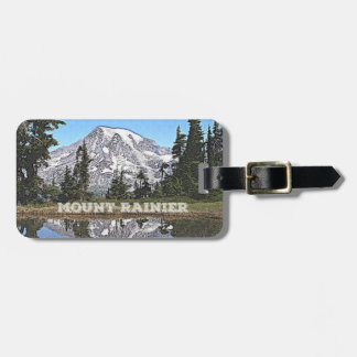 Estado do Monte Rainier - de Washington Etiqueta De Bagagem