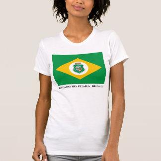Estado faz o T da bandeira de Ceará T-shirt