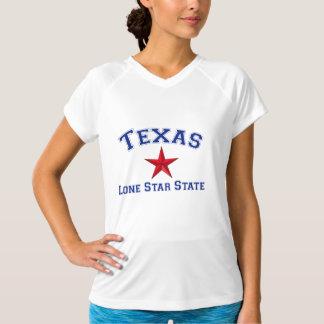 Estado solitário da estrela t-shirt
