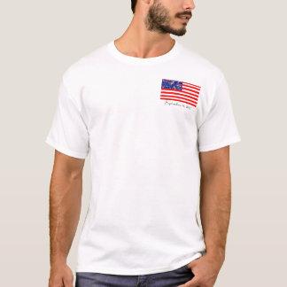 estados para estrelas nós tshirt da bandeira