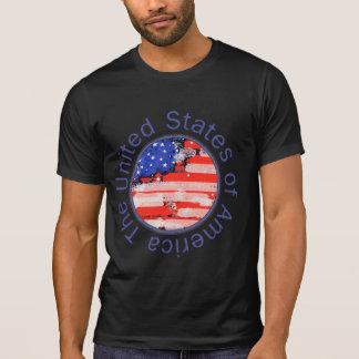 Estados Unidos da América bandeira Camisetas