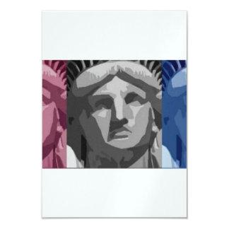 Estátua da liberdade convites personalizado