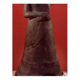 Estátua de Napirasu, esposa do rei de Elamite Cartão Postal