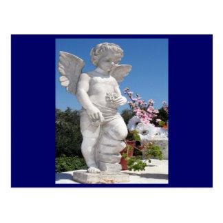 Estátua do anjo cartão postal