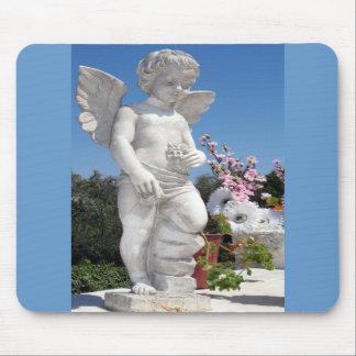 Estátua do anjo mouse pad