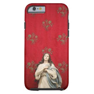 Estátua em uma igreja de Spaccanapoli, Nápoles do Capa Tough Para iPhone 6