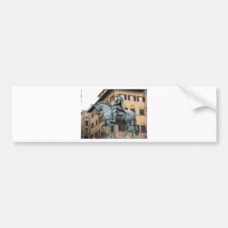 Estátua equestre de Cosimo de Medici, Florença Adesivo Para Carro