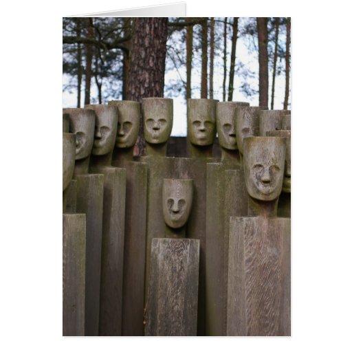 Estátuas comemorativas em Berlim Alemanha Cartoes