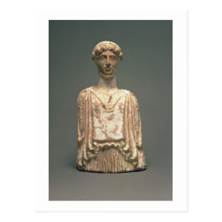 Estatueta de Persephone, sótão, c.500 BC (terracot Cartão Postal