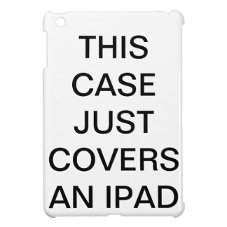 Este caso apenas cobre um iPad Capa iPad Mini