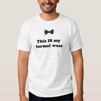 Este É meu vestuário formal! Camiseta