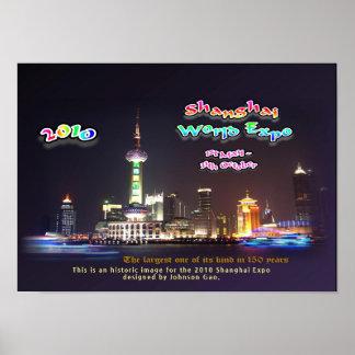 Este é um design histórico para a expo de Shanghai Poster