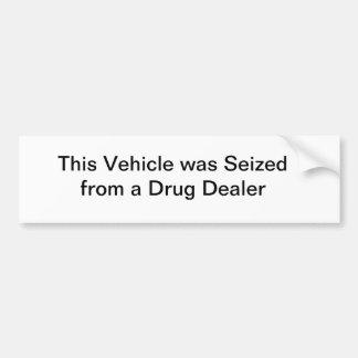 Este veículo foi apreendido de um traficante de dr adesivo para carro