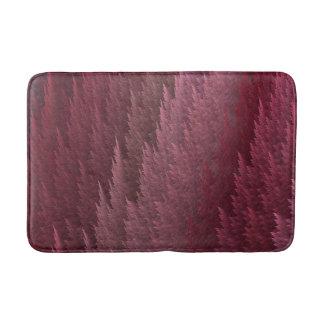 Esteira de banho cor-de-rosa da pena do Tartan Tapete De Banheiro