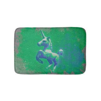 Esteira de banho do unicórnio (que incandesce tapete de banheiro