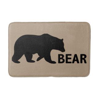 Esteira de banho do urso tapete de banheiro