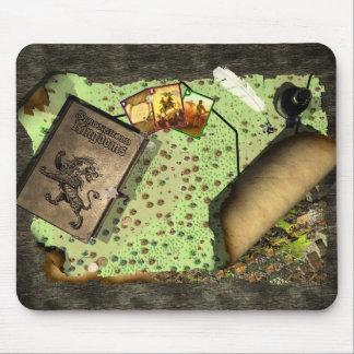Esteira do rato dos reinos da fortaleza mouse pad