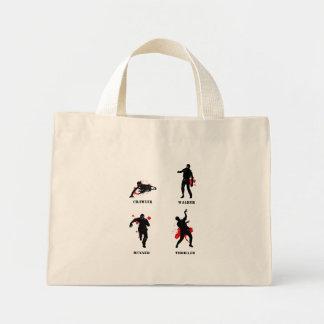 esteira rolante do caminhante do zombi bolsa de lona
