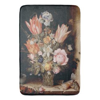 Esteiras de banho da arte das flores de Van antro Tapete De Banheiro