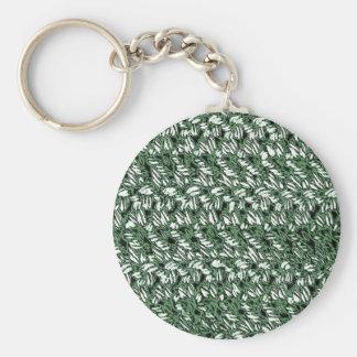 Estilo Crocheted Chaveiro