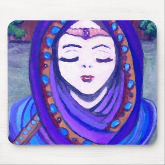 Estilo da arte da fantasia da rainha Shae de velud Mouse Pad