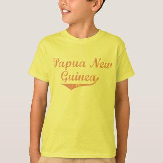 Estilo da revolução de Papuá-Nova Guiné Camiseta