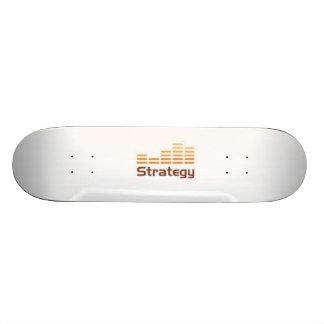 estilo de patinagem da estratégia shape de skate 21,6cm