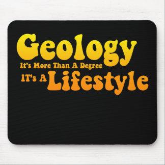 Estilo de vida Mousepad da geologia