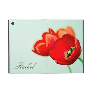 Estilo floral do bokeh do verde da hortelã da tuli capa iPad mini