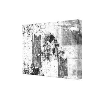 Estilo livre em canvas preto e branco