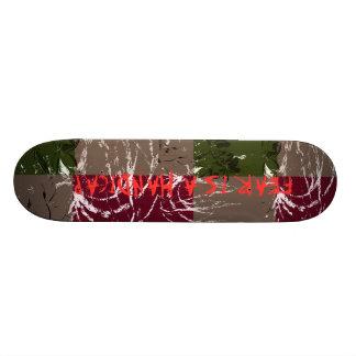 Estilo livre shape de skate 19,7cm