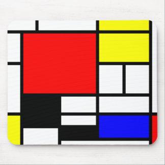 Estilo Neo-plasticism de Mondrian Mouse Pad