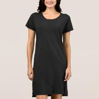 Estilo: PRESENTE americano do vestido do t-shirt