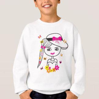 Estilo: T-shirt do gráfico do roupa das mulheres