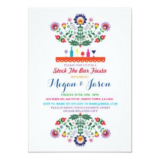 Estoque da festa o convite do noivado de México do