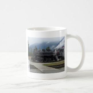 Estrada de ferro de Alaska Caneca De Café