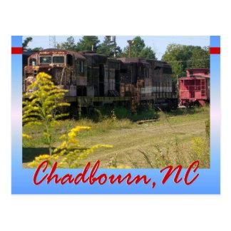 Estrada de ferro do sul de Carolina - cartão de