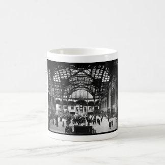 Estrada de ferro do vintage da Nova Iorque da Caneca De Café