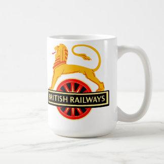 Estradas de ferro britânicas caneca