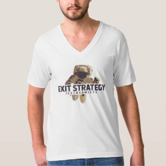 Estratégia de saída: Camisa dos homens do