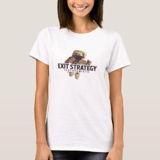 Estratégia de saída: T-shirt do astronauta das
